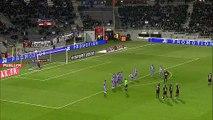 20/02/11 : Yann M'Vila (45'+1) : Toulouse - Rennes (1-2)