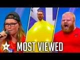 MOST VIEWED Auditions on Denmark's Got Talent - Got Talent Global
