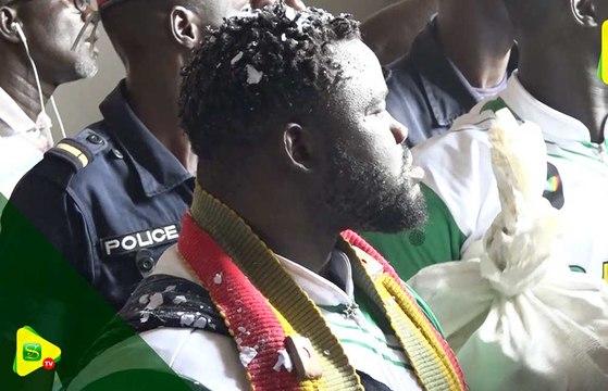 Arrivée de Eumeu Séne au Stade Léopold Sédar Senghor