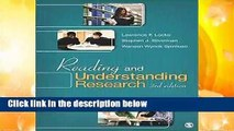 [Read] Reading and Understanding Research:  For Free