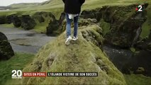 Islande : Un grand canyon menacé par la surfréquentation des touristes après un clip du chanteur Justin Bieber - VIDEO