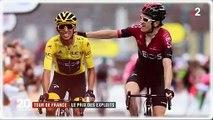 Tour de France 2019 : Découvrez le montant des primes qui ont été versées aux coureurs cette année - VIDEO