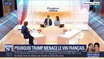Pourquoi Trump menace le vin français ?