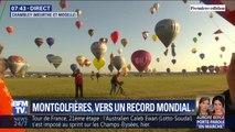 Vers un record mondial du plus grand rassemblement de montgolfières?