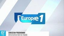 """Tour de France : """"Julian Alaphilippe a réussi à conquérir les cœurs"""", salue Christian Prudhomme"""