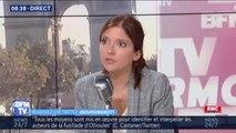 """Aurore Bergé sur les permanences LaREM saccagées: """"On cherche à générer un sentiment de peur parmi les parlementaires"""""""