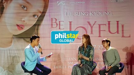 Lee Sung Kyoung on her filipino fans