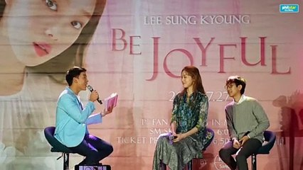 Lee Sung Kyoung on her secret talent