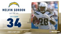 Melvin Gordon -RB, Chargers- - Top 100 Players of 2019 - NFL