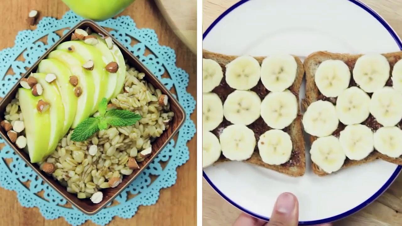 2 Healthy Breakfast Ideas, Quick Healthy Breakfast
