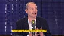 """Elections municipales : David Cormand répond """"non"""" à Yannick Jadot pour des alliances d'écologiste avec des maires de droite"""