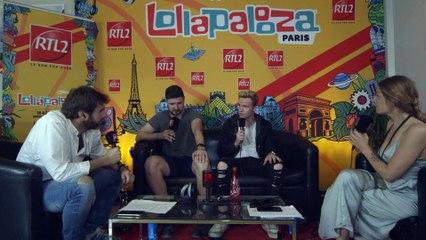 Kodaline en interview au festival Lollapalooza