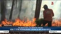 Hari Ini Ada 7 Titik Kebakaran Lahan di Palangka Raya