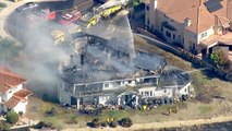 Luxusanwesen bei Buschfeuer zerstört