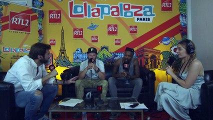 Skip The Use en interview au festival Lollapalooza