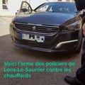 La voiture radar : l'arme des policiers de Lons-le-Saunier  contre les excès de vitesse