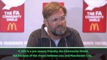 Is the Community Shield a friendly? - Klopp questions importance