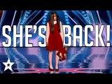 GHOST CAUGHT ON CAMERA- The Sacred Riana Terrifies Mel B on America's Got Talent - Got Talent Global