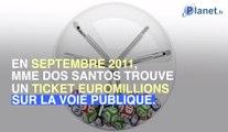 Elle gagne 12 millions d'euros après avoir trouvé un ticket gagnant Euromillions