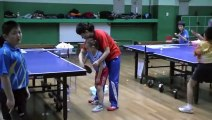 Backhand technique -Learn Table Tennis