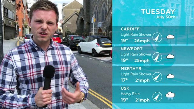 WEATHER: July 30th 2019