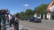 Les informateurs Reynders et Vande Lanotte chez le Roi