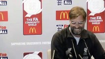 Klopp looks ahead to FA Community Shield against Manchester City