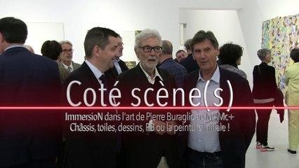 Expo au Mam, Pierre Buraglio en Bas Voltage - Côté Scène(s) - TL7, Télévision loire 7