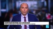Cinq manifestants dont des étudiants tués par balles au Soudan