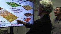 Le prix Nobel au labo Hubert Curien, le prix Nobel de physique en visite à Saint-Etienne