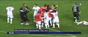 2014-10-28 - Résumé coupe de la Ligue Montpellier-AC Ajaccio (0-1)