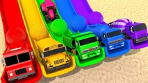 Learn Colors with Street Vehicle help Friend and Glitter Play Doh Pretend Play for Kids