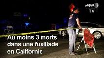 Fusillade en Californie: au moins 3 morts dont un enfant