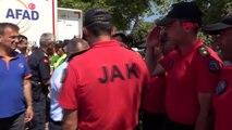 Düzce'de arama kurtarma ekipleri bölgeden ayrıldı