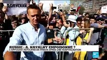 L'opposant numéro 1 au Kremlin Alexeï Navalny retourne en prison après une hospitalisation