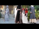 Dubai Stylish Abaya Trend Burqa Designs 2018 - part 2