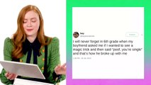 Stranger Things' Sadie Sink Gives Break Up Advice | Extremely Relatable