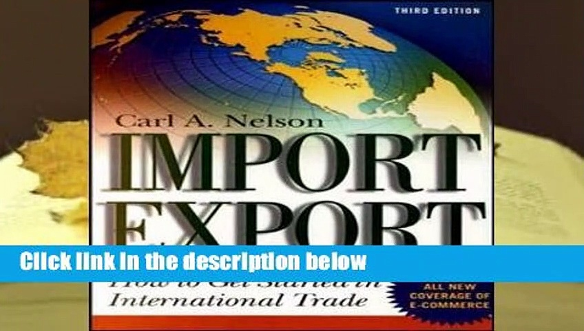[READ] Import/Export: How to Get Started in International Trade