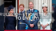 Royal Family: The Surprising Rules Of Etiquette They Have To Follow!