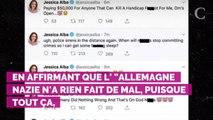 Jessica Alba victime d'un piratage : des tweets homophobes et...