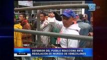 Visas a ciudadanos venezolanos para el ingreso a Ecuador