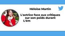 """Héloïse Martin, candidate de """"Danse avec les stars"""" vivement critiquée sur son poids durant l'émission Fort Boyard"""