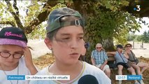Cantal : la visite d'une citadelle détruite se fait en réalité virtuelle