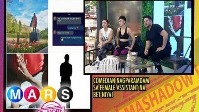 Mars Pa More: Comedian, nagparamdam sa female assistant na bet niya? | Mashadow