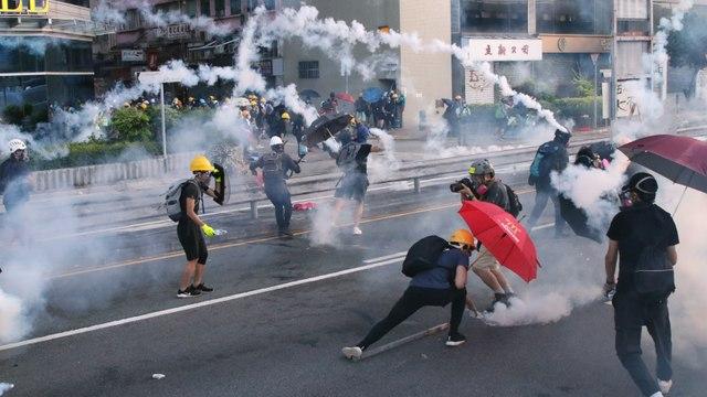 Latest on Hong Kong Protests