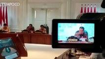 Rapat Terbatas, Jokowi Harapkan Transportasi Jabodetabek Terintegrasi