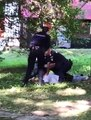 They Handcuffed a man that died in agony by the Romanian Police Force