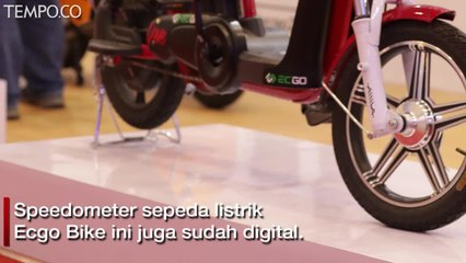 Sepeda Listrik Ecgo Bike Hadir di GIIAS 2019, Punya Harga Promo