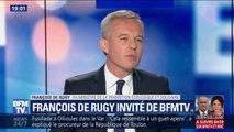"""François de Rugy: """"Je vais très bien, je suis en quelque sorte libéré"""""""