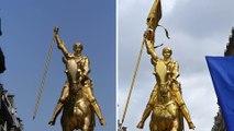 La statue de Jeanne d'Arc vandalisée, vrai ou faux ?